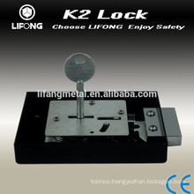 New design mechanical key lock for safe