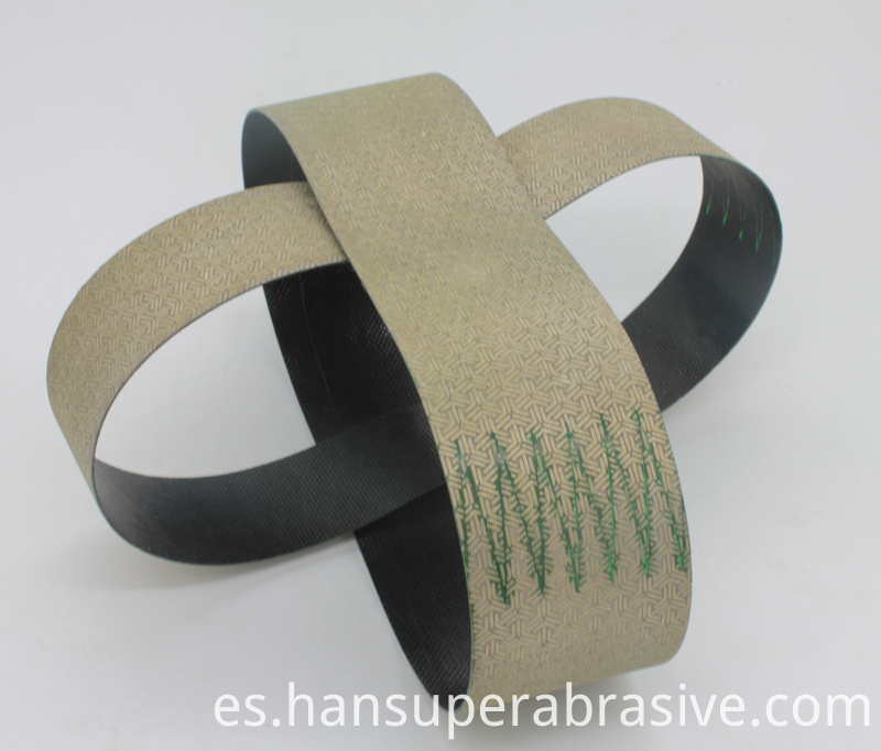 Diamond Abrasive Flexible Belts for Ceramics