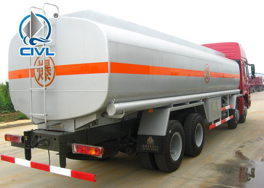 Howo 8x4 Fuel Tanker Truck 23