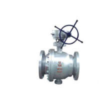 Tekanan rendah Trunnion Ball Valve
