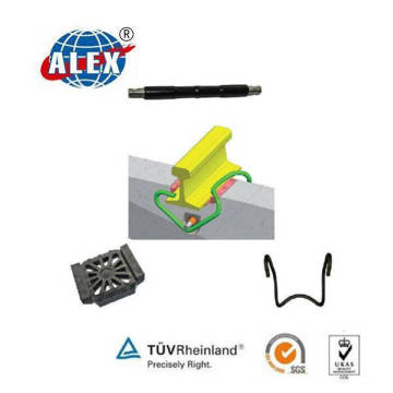 Fist Clip Railway Fastener System for Railroad