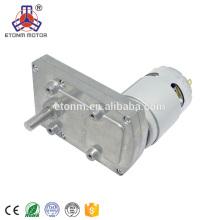 Motor eléctrico del engranaje del dc Robot 12v dc alto par de rpm