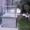 Electric chair stair for the disabled lift platform
