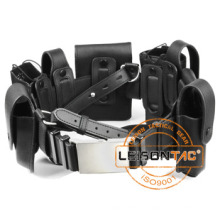 Leather Pouches Suitable Army Tactical Belt Nylon Belt