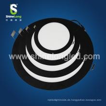 LED-Beleuchtung für gewerbliche Zwecke Deckeneinbau 12W Round LED Panel
