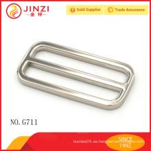 Jinzi marca 50mm hebilla de cinturón ajustable