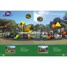 11101 Большая наружная пластиковая игровая площадка парка развлечений игрушки