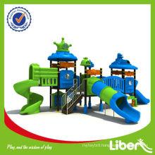2015 New High Quality Plastic Children Amusement Park Equipment with Tube Slide