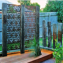 Laser Cut Metal Screens Outdoor untuk Garden