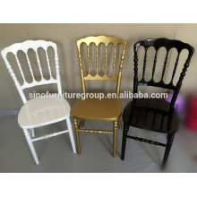 Factory outlets, Wholesale cheap soild wood napoloen chair for rent