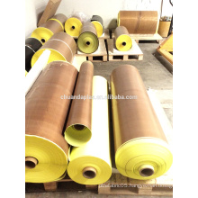 Professional Adhesive manufacturer PTFE teflon glass fiber with silicone adhesive with release liner                                                                         Quality Choice
