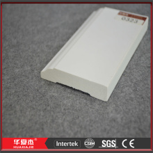 Linha de parede plástico vinil branco parede gotejamento Cap