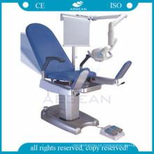 AG-S101 CE ISO Hospital silla de examen ginecológico de acero de alta calidad