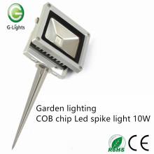 Garden lighting COB chip Led spike light 10W