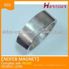 N50 спеченные кольца редкоземельных неодимовый магнит оптом