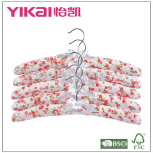 Hot selling cotton padded padded hangers