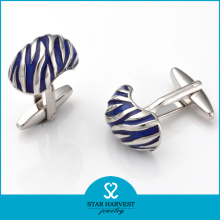 Fashion Custom Mushroom Copper Cuff Links Wholesale (BC-0020)
