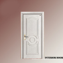solid and mdf white door with architrave/sold wood door