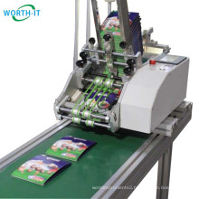 Multi Feeder Card Paper Labels Plastic Bags Feeding Paging Machine Friction feeder Paging Machine