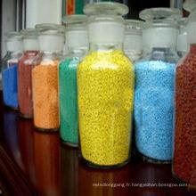 Taches de couleur sulfate de sodium