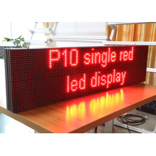 P10 single red color Display Advertising LED Display