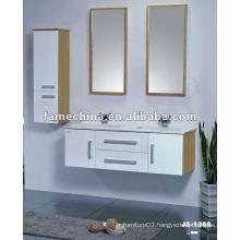 Popular oak bathroom storage cabinets