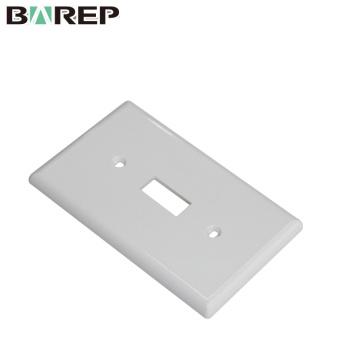 YGC-011 American plate GFCI panel de interruptor de pared de plástico eléctrico