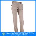 Calças de algodão de fábrica de Shenzhen com alta qualidade e bolso