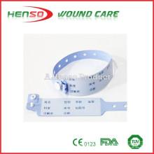 Bandas de identificação hospitalar da HENSO