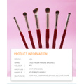 2020 Neue Red Finger Griff Make-up Pinsel Sets