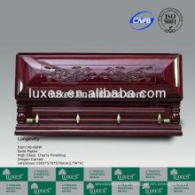 chinesischen Sarg große geschnitzte Schatullen für USA