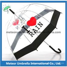 Transparent PVC Umbrella/Clear Umbrella/Bubble Umbrella/Plastic Umbrella