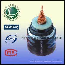 Venta caliente 110kV cables de alimentación a prueba de fuego de la red estatal de China