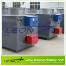 Estufa de calefacción de aire usada invierno marca LEON para granja de pollos