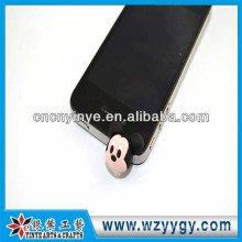 2013 fancy promotional pvc cheap dust proof plug from factory