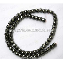 6x6MM Loose Hematite magnético 6Faced Twist Beads 16 ""