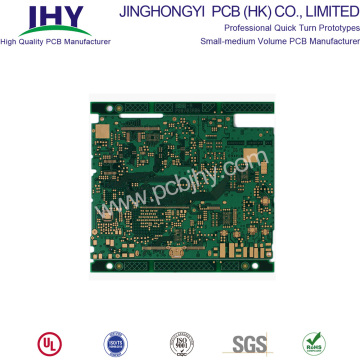 12-laags PCB-onderdompelings gouden oppervlakafwerking PCB-plating