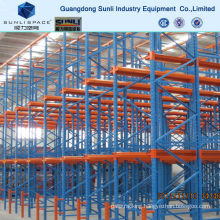 2 Way Communication Drive in Pallet Rack Steel Shelving