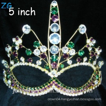 Special Colored Rhinestone prom Tiara with crystal Custom party Tiara, pageant tiaras