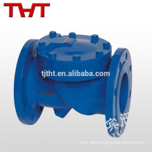 flange type soft seal swing clamped check valve dn