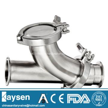 Sanitary Y-ball check valves