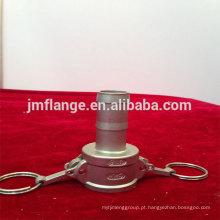 Aço inoxidável 304 / 316l C haste da mangueira do acoplador