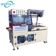 Instant Noodles Wine Bottle cap wrapping machine industrial packaging shrink plastic machine