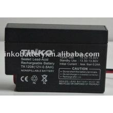 12V 0.8AH batterie d'acide de plomb avec la bonne qualité