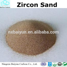 arena de zircón de precio bajo 66% -67purity