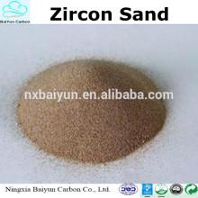 preço mais baixo areia de zircão 66% -67purity