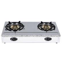 Cuisinière à gaz 2 brûleurs 115 brûleurs en acier inoxydable