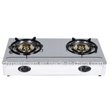 2 Burner 115 Burner Stainless Steel Top Gas Cooker