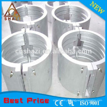 Aquecedor elétrico de barril de ferro fundido de alumínio