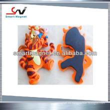 2015 imanes de goma de encargo del PVC 3d del PVC de la promoción de moda